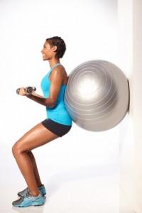 exercício na bola-espaco kaizen