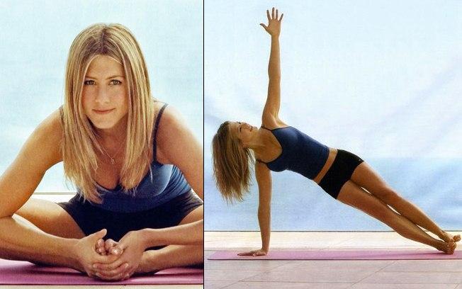Jennifer Arniston em forma com Pilates - Espaço Kaizen