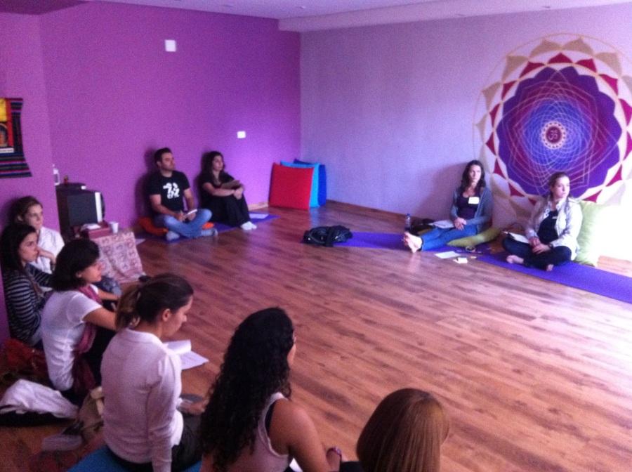 """Workshop de PNL """"Criando sintonia com o aluno"""" Espaço Kaizen e HT Pilates. Todos os direitos reservados."""