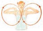 yoga - aquecimento para cotovelos e ombros