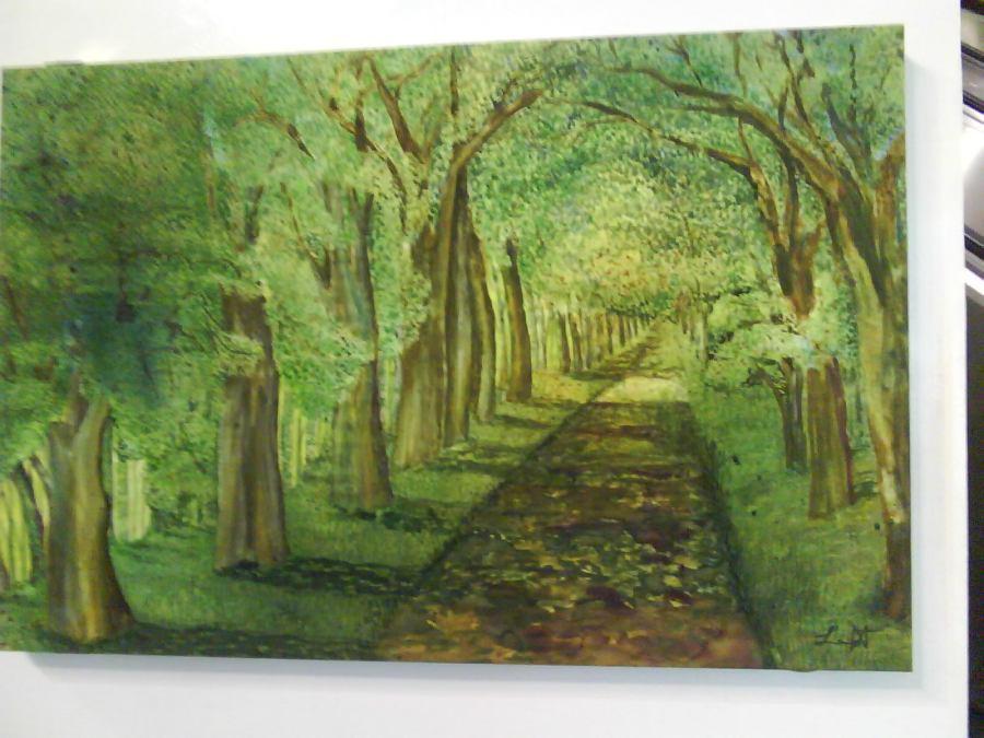 Arvores da exposição de Laila Bastos Andrade Guimarães - feng shui
