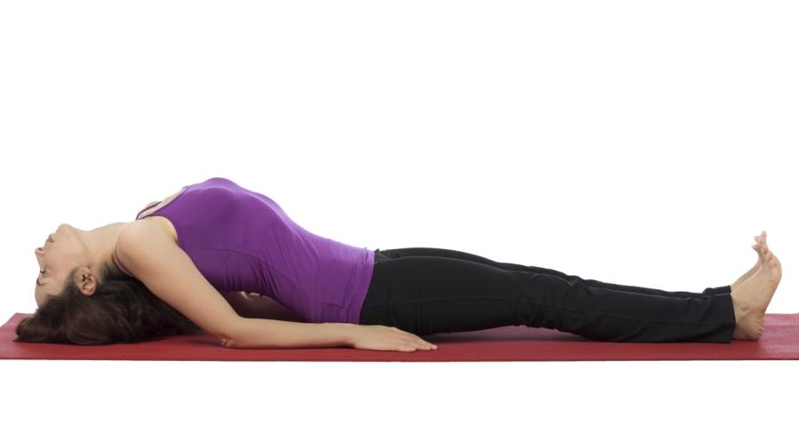 postura de yoga para corredores