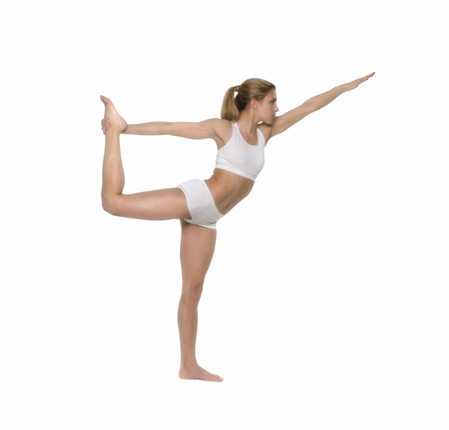Natarajasan yoga para corredores