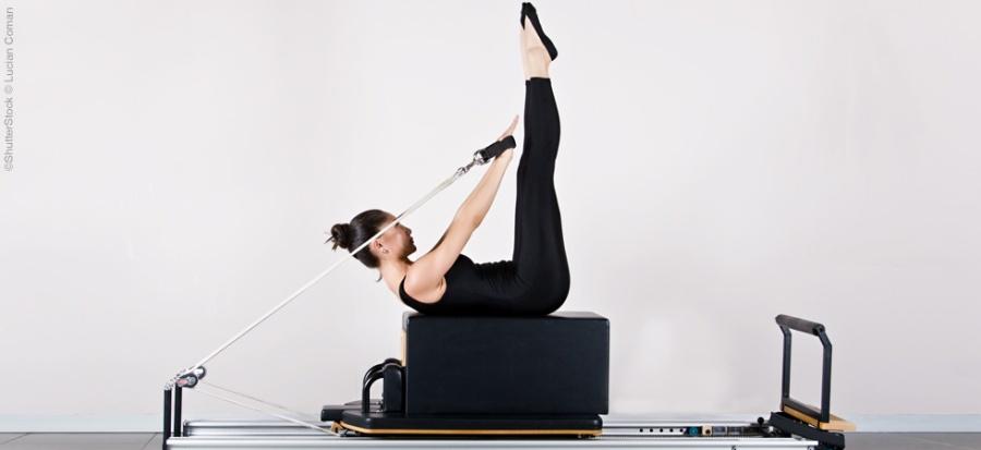 exercícios de pilates no reformer para quadril