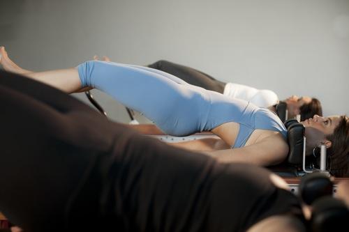 aula de Pilates no Espaço Kaizen
