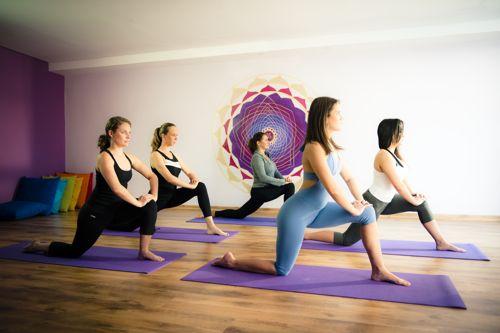 Aula de Yoga no Espaço Kaizen