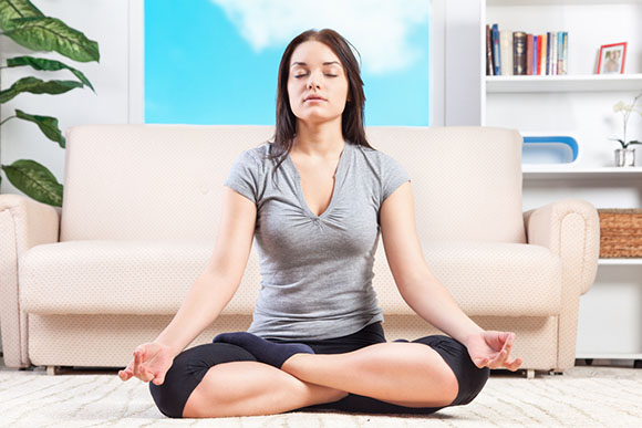Meditacao em casa