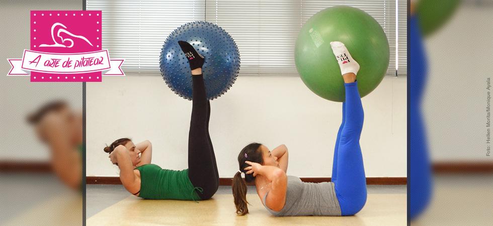 Pratique Pilates Double Straight Leg Stretch