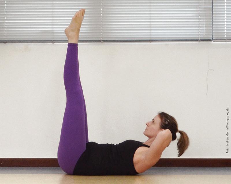 Pratique Pilates Double Straight Leg Stretch2