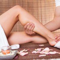 Massagem para dores no joelho