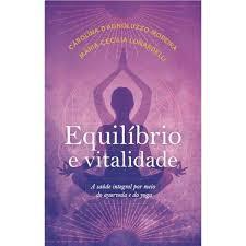 capa do livro, roxa com ilustração de uma sombra meditando